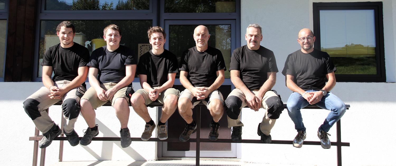 Tischlerei Handle Grins Team